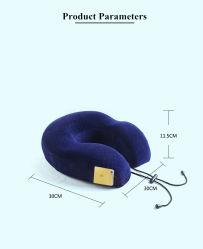 Cuscino registrabile del collo di figura della gomma piuma U di memoria di vendita calda