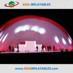 12m Durchmesser-aufblasbares Abdeckung-Ereignis-Zelt für Stadium mit Beleuchtung
