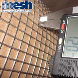 Malla de alambre soldada de acero galvanizado para la construcción se utiliza con precio de fábrica