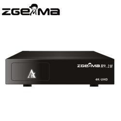 Zgemma H9.2h 4K UHD verdoppeln kombiniertes Empfänger-Linux OS E2 kombinierte Doppeltuners des Kern-DVB-S2X+T2/C