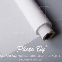 Panno 100% di bullonatura di stampa dello schermo del poliestere (colore bianco)