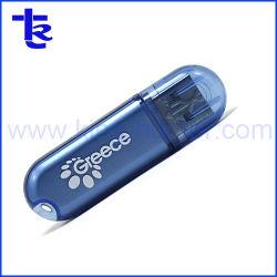 도매 광고 선전 선물로 플라스틱 투명한 USB 섬광 드라이브