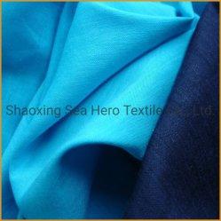 Tela di bambù della fibra/tessuto respirabile tinto attivo tinto pianura del cotone