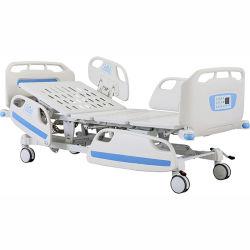 Fünf elektrisches Krankenhaus-körperliches krankes Bett der Funktions-Therapie-ICU