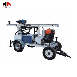 Drilling 100mのための機能Competitive Price Customed Portable White Small Water Well Drilling Rig