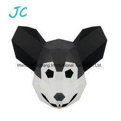 Animal de rat en forme de papier d'artisanat fait main Parti masque Masque 3D