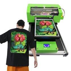 Druk van de T-shirt van de Douane van de Druk van het Embleem van de T-shirt van de Kleding van Funsun de Digitale