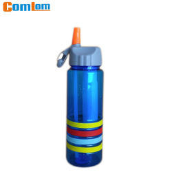 CL1C-GW32-Comlom un vaso de agua de plástico, PC Sports botella con la paja