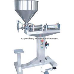 Single-Head líquido pneumática e colar máquina de enchimento