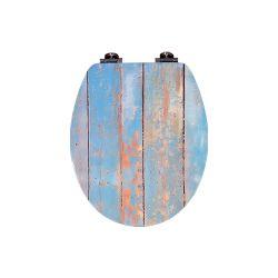 E1 de madeira macia MDF fechando assento do vaso sanitário tampa tampa do assento DW-022