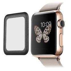Heißer verkaufenintelligenter Uhr-ausgeglichenes Glas-Bildschirm-Schoner der Volldeckung-2.5D für Apple-Uhr-Bildschirm-Schoner-Glas