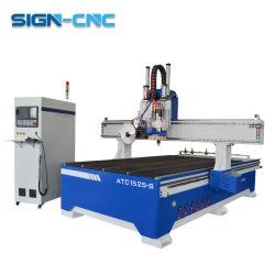 lineares ATC 1525 1530 CNC-Fräser-Holz mit einer Säge-Ausschnitt-Holzbearbeitung-Maschine