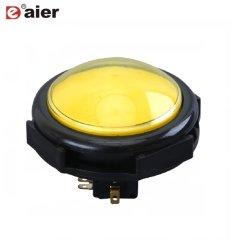 Interruttore illuminato del pulsante della macchina del gioco micro con il tondo convesso