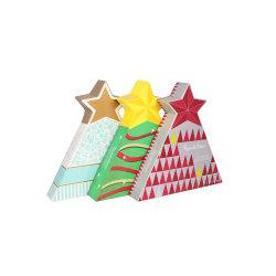 Geschenkschachtel aus Chirstmas Tree Paper für Schokoladenverpackungen