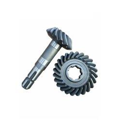 20crmnti OEM de alta precisão do eixo da engrenagem cônica da engrenagem cônica de ligas de aço/engrenagem helicoidal