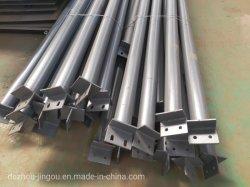 Sección H de acero con acabado galvanizado en caliente de cruce