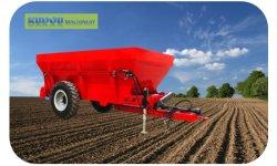 Cal y fertilizante orgánico Esparcidor de estiércol
