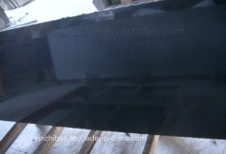 Chiva Negro/pulido de granito negro absoluto/Flameados/losa de granito pulido de baldosa/cocina/Vanidad Top/encimera