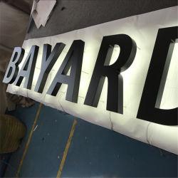 Canal de marche arrière à LED étanche élégant Lettres