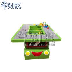 3 в 1 Многофункциональный Детский стол системы хранения данных в таблице роботы игрушки различные мультфильм здание Car головоломки игры