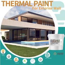 Экономия энергии Акриловый лак эмульсии теплицы реального камня покрытие строительные материалы краски