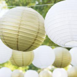 Lanterna d'attaccatura rotonda cinese del Libro Bianco del LED per la festa nuziale