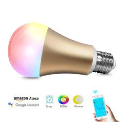 Changement de couleur de 7 W Google éclairage intelligent Ampoule de LED pour la maison