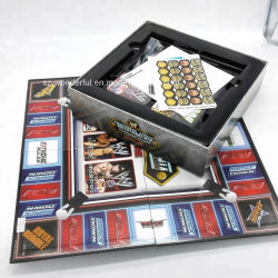 교육 장난감 가족을%s Ludo 게임 제조자를 인쇄하는 주문 보드 게임
