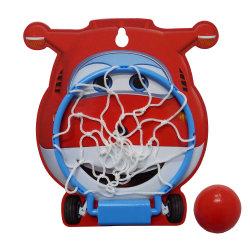 Carte de basket-ball, de jouer ensemble, anneau en métal jeu de basket-ball des jouets avec la bille et de la pompe pour les enfants
