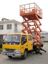 12m 10m 8m 6m table élévatrice à ciseaux chariot plate-forme de travail aérien