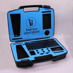 カメラの箱のツール中型の堅いプラスチック安全で安全な運送旅行記憶のケース