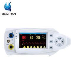 شاشة LCD ملونة Bt-Po810d مقياس التأكسج أعلى مقياس التأكسج مقاس 4.3 بوصة مع SpO2، معدل النبض، سعر etCO2