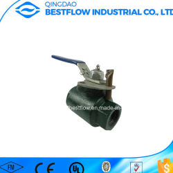 Rosca NPT Válvula de bola de alta presión para el campo de aceite