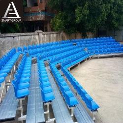 Bleacher di alluminio di lusso di pallacanestro di calcio da vendere il sistema della disposizione dei posti a sedere della tribuna
