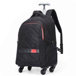 Il doppio carrello della spalla ha spinto il sacchetto dello zaino del taccuino del computer portatile di corsa di svago di affari di rotolamento (CY3719)