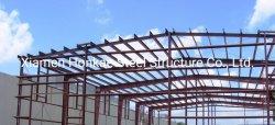 Structure en acier préfabriqués Bâtiments personnalisés Atelier fabriqués à partir de l'acier de structure