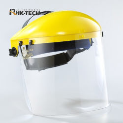 شفاف، مقاوم لرش السوائل، وClear Face Guard، والسلامة الصناعية واقي الوجه الخوذة