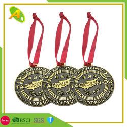 Kundenspezifische Qualität 3D Druckguss-Überzug-Silber-Preis-Medaille für europäischer Cup-Zoll-charakteristische Kunstfertigkeit der verschiedenen Medaille als Preis für verschiedene COM (133)
