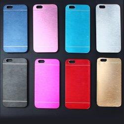 Cassa di alluminio del telefono della spazzola del metallo del PC duro mobile degli accessori di alta qualità per il iPhone 7