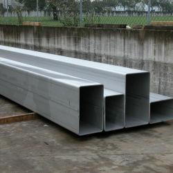 ASTM A554, 304 aço inoxidável Tubo retangular tubo quadrado para a construção