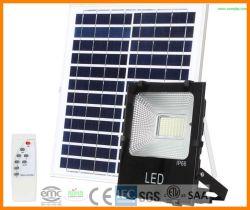 100W IP66 5054 солнечной Светодиодный прожектор с пассивный инфракрасный датчик