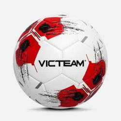 De goede Bal van het Voetbal van de Voetbal van het Leer van de Grootte van de Verordening