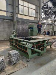月間取引用の油圧スクラップ金属アルミニウム銅プレスリサイクル機械 コンパクタ Baler Y81f-160