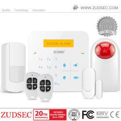 GSM беспроводные системы охранной сигнализации домашних систем безопасности с помощью сенсорной клавиатуры