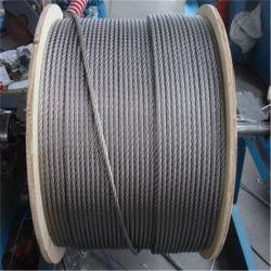 304 7X37 13mm cable metálico de acero inoxidable