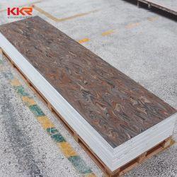 100% puros dobrando a folha de pedra artificial de superfície sólida
