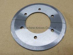 90 mm 円形スリッターナイフ分割設計 6 つのタップ穴