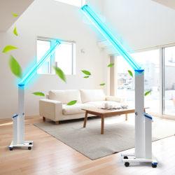 二重Tube紫外線LED Lamp Ultraviolet Light Sterilization Prevention Air Purifie紫外線Disinfection Lamp 72W Germicidal Lamp