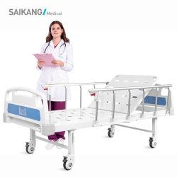 A1K en acier économique de l'hôpital manuel réglable à fonction unique de meubles lit médical pour le patient avec la CE/FDA