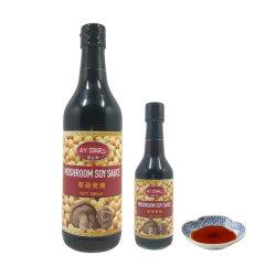 Кошерная не связанных с ГИО высокое качество темный соевый соус грибов